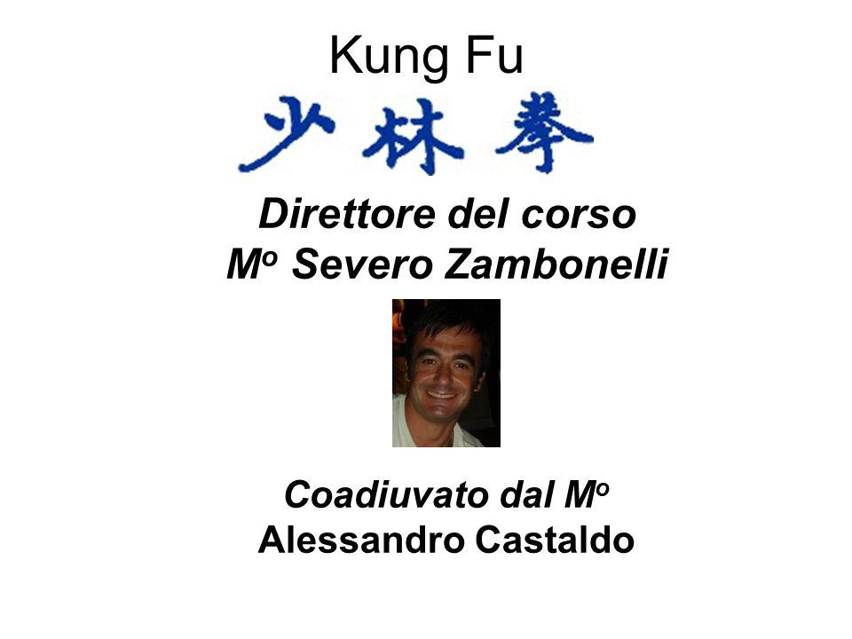Kung Fu Direttore del corso M o Severo Zambonelli Coadiuvato dal M o Alessandro Castaldo
