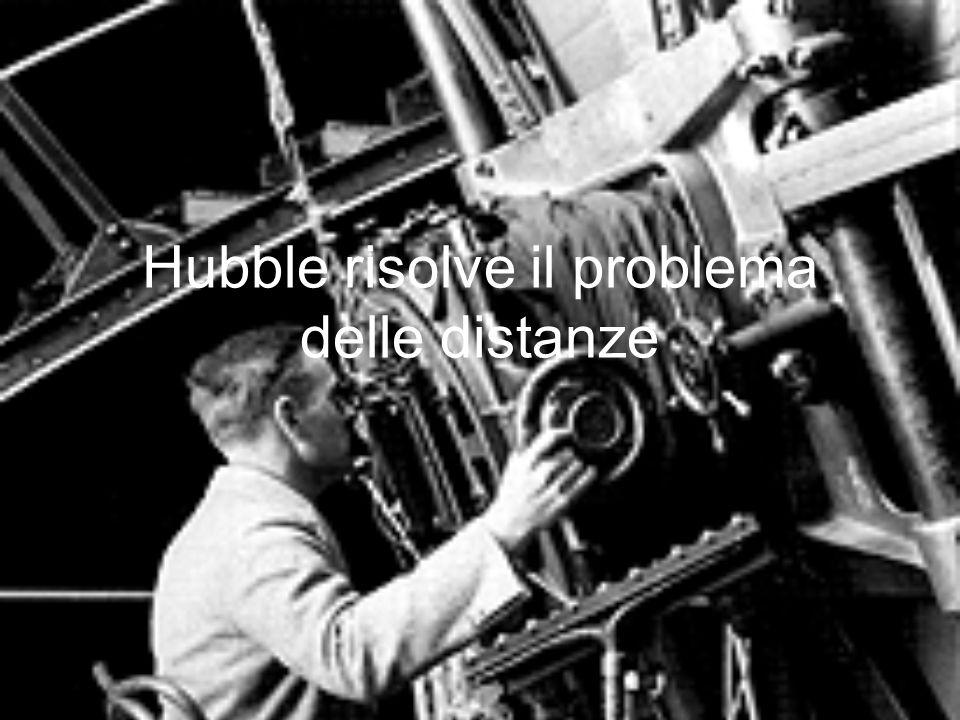 Hubble risolve il problema delle distanze