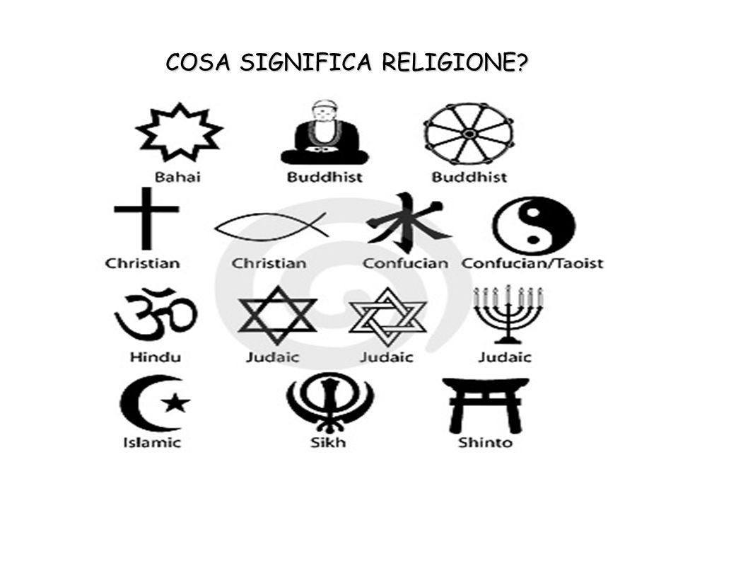 COSA SIGNIFICA RELIGIONE?