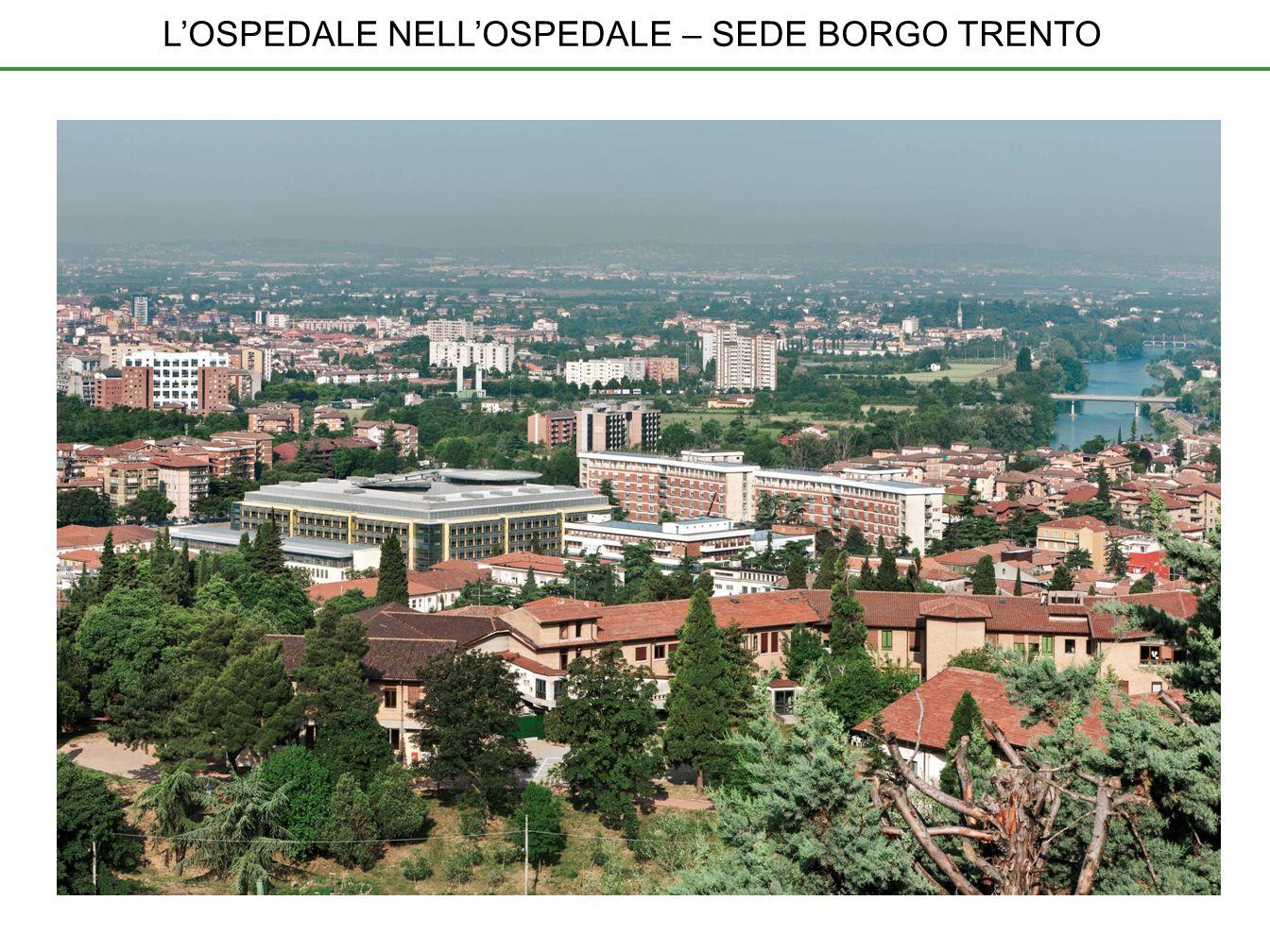 POLO CHIRURGICO Attivo dalla primavera 2011, è il primo ospedale nellospedale dellAOUI di Verona.