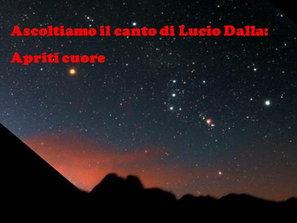Ascoltiamo il canto di Lucio Dalla: Apriti cuore