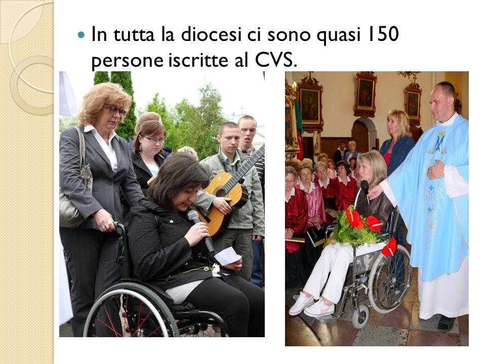 In tutta la diocesi ci sono quasi 150 persone iscritte al CVS.