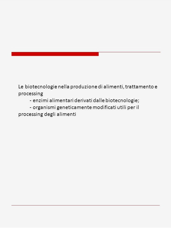 15/01/201422 ALCUNI ENZIMI COMMERCIALI PRODOTTI BIOTECNOLOGICAMENTE EnzimaApplicazione Acetolactate decarboxylase Beer aging and diacetyl reduction (EC 4.1.1.5) α -amylase (EC 3.2.1.1) High fructose corn syrup* (HFCS) production Amylo-1,6-glucosidase High fructose corn syrup (HFCS) (EC 3.2.1.33) production Chymosin (EC 3.4.23.4) Milk clotting in cheese manufacturing Lactase (EC 3.2.1.108) Lactose hydrolysis Glucan 1,4- α -maltohydrolase Anti-staling in bread (maltogenic α-amylase, EC 3.2.1.133) 22 *55% fruttosio e 45 % glucosio potere dolcificante come saccarosio o miele Ciascun paese ha i suoi regolamenti per luso Di questi enzimi biotecnologici