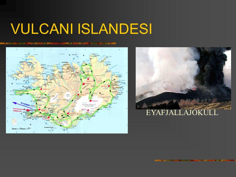 VULCANI ISLANDESI EYAFJALLAJOKULL