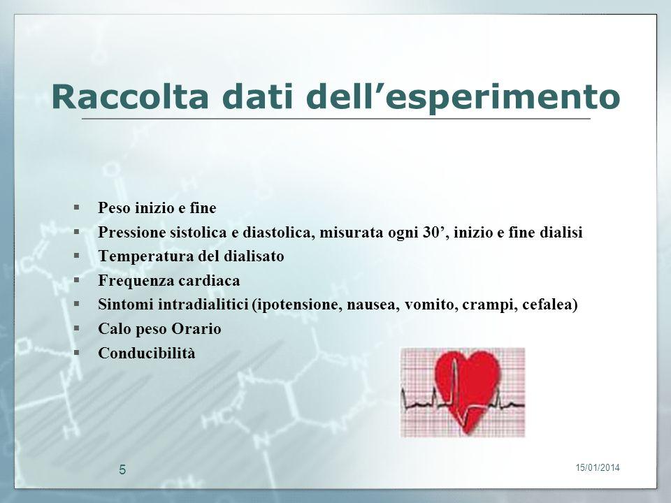15/01/2014 6 Studio multicentrico In questo periodo è in corso uno studio multicentrico, che coinvolge 20 centri di emodialisi in Europa ed in Italia, e tra questi è compreso il nostro.