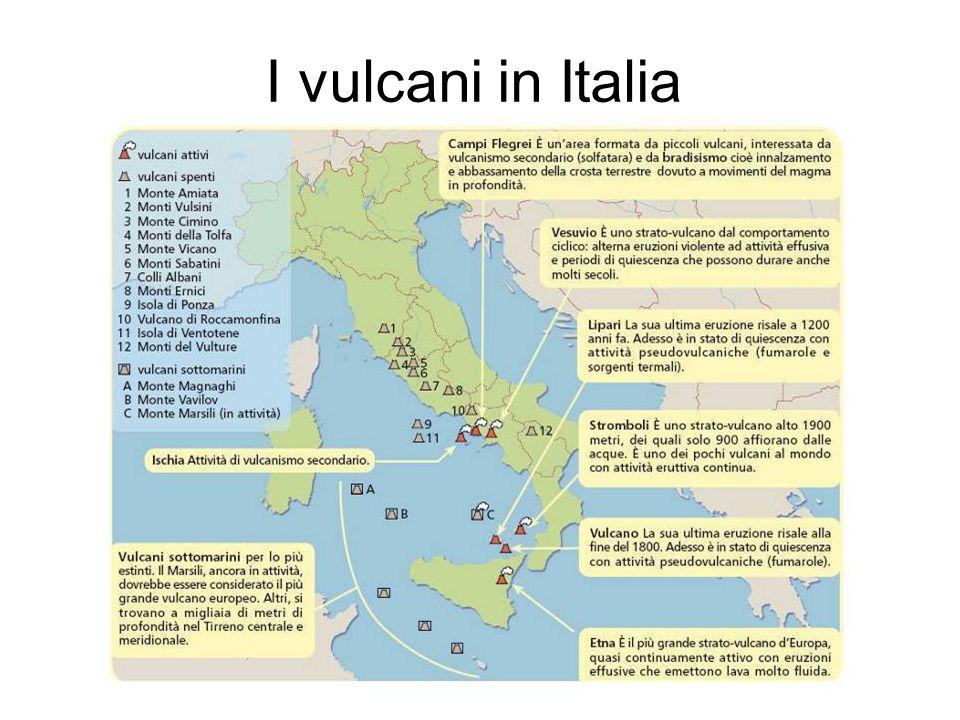 Cartina Italia Con Vulcani.I Vulcani Lessons Tes Teach