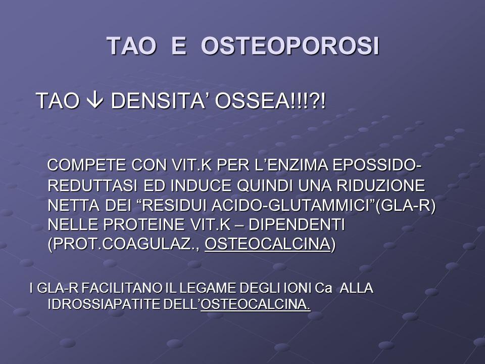 TAO E OSTEOPOROSI TAO DENSITA OSSEA!!!?.TAO DENSITA OSSEA!!!?.