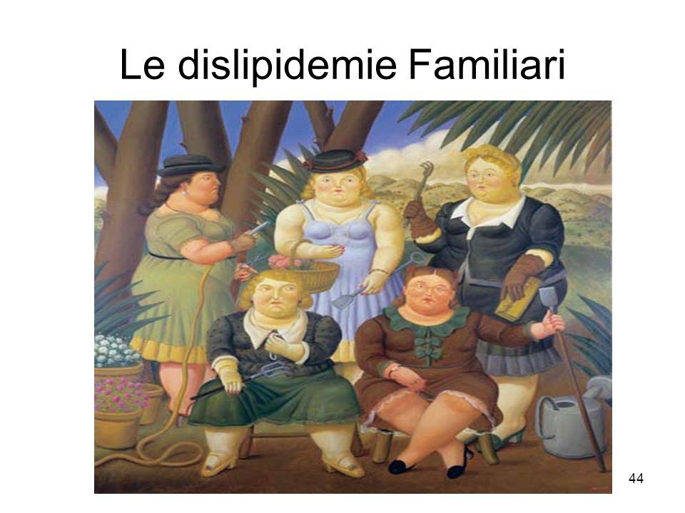 44 Le dislipidemie Familiari