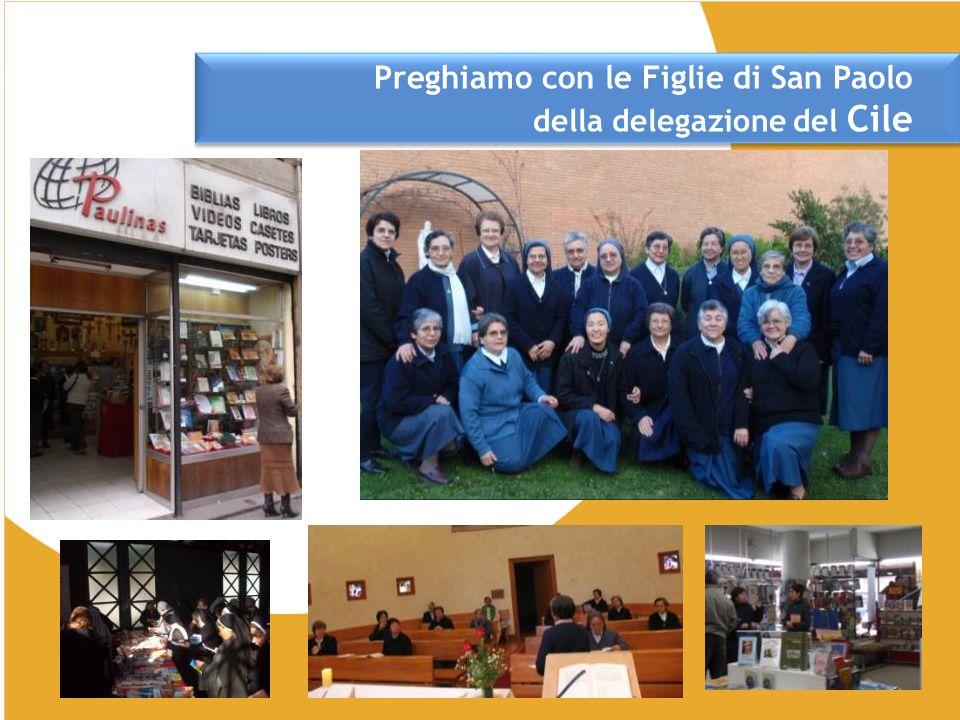 Preghiamo con le Figlie di San Paolo della delegazione del Cile