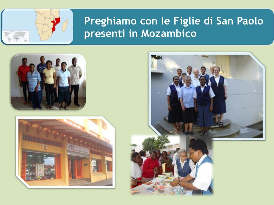 Preghiamo con le Figlie di San Paolo presenti in Mozambico