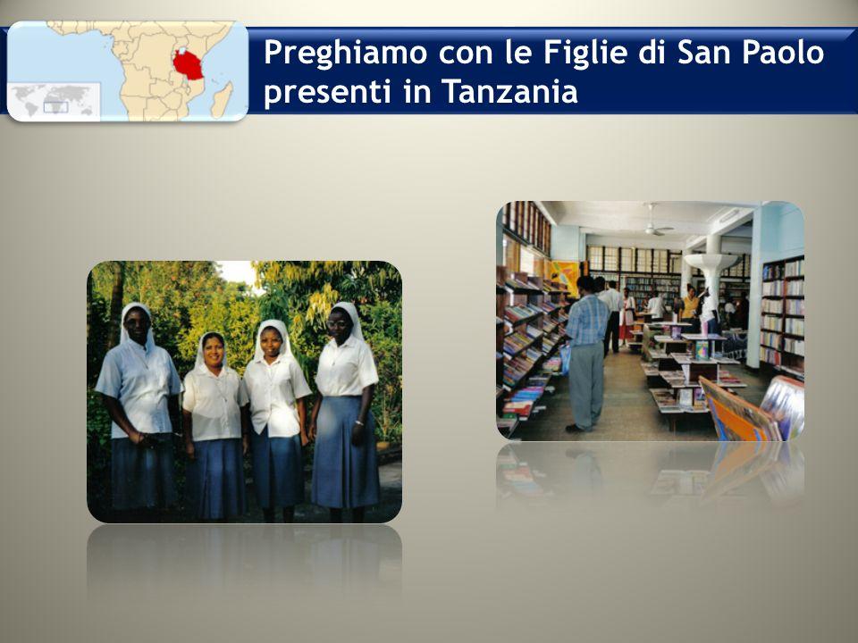 Preghiamo con le Figlie di San Paolo presenti in Tanzania