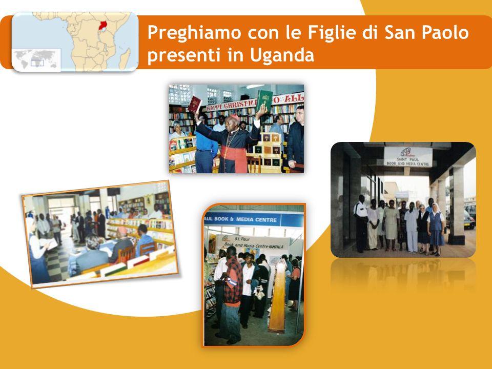 Preghiamo con le Figlie di San Paolo presenti in Uganda