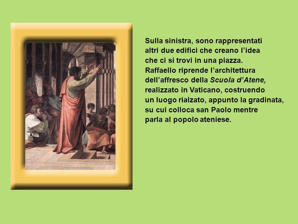Lidea principale è quella di tradurre alla lettera la descrizione della narrazione degli Atti degli Apostoli: «Tutti gli Ateniesi e gli stranieri colà residenti non avevano passatempo più gradito che parlare e sentir parlare» (At 17,21).