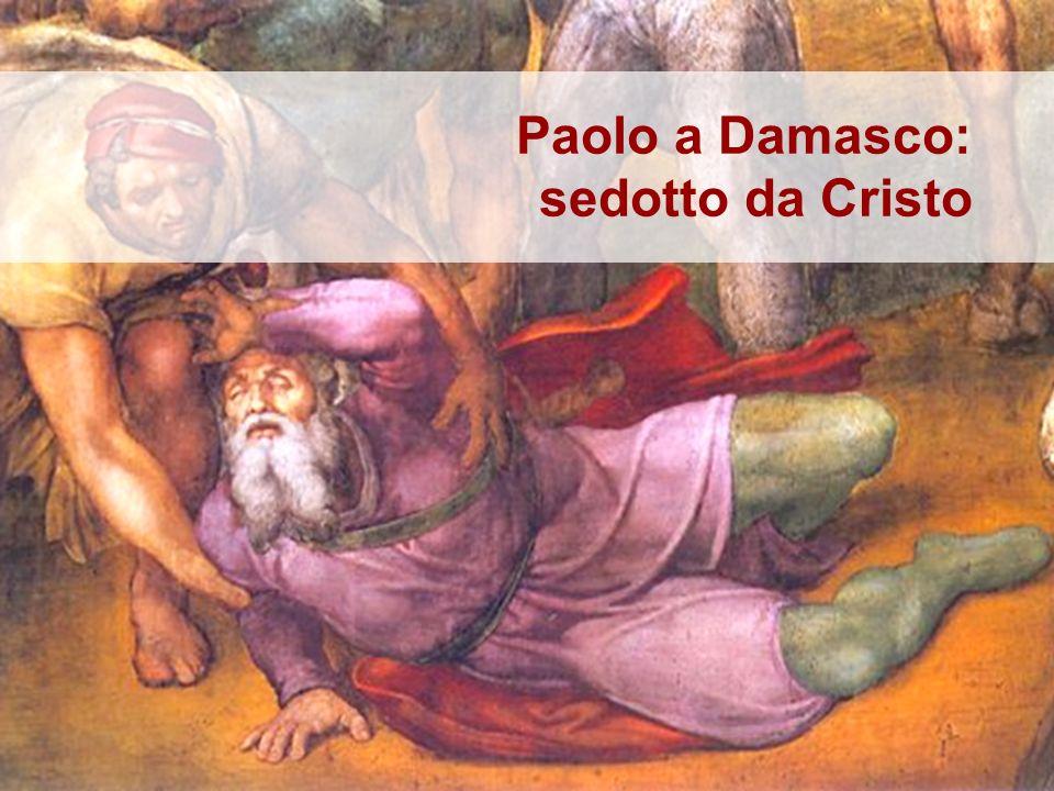 Michelangelo, Conversione di Saulo, 1542-45, Città del Vaticano Nellaffresco michelangiolesco sono rappresentati tutti gli elementi e tutti i personaggi descritti negli Atti.