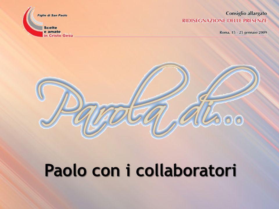 Paolo con i collaboratori