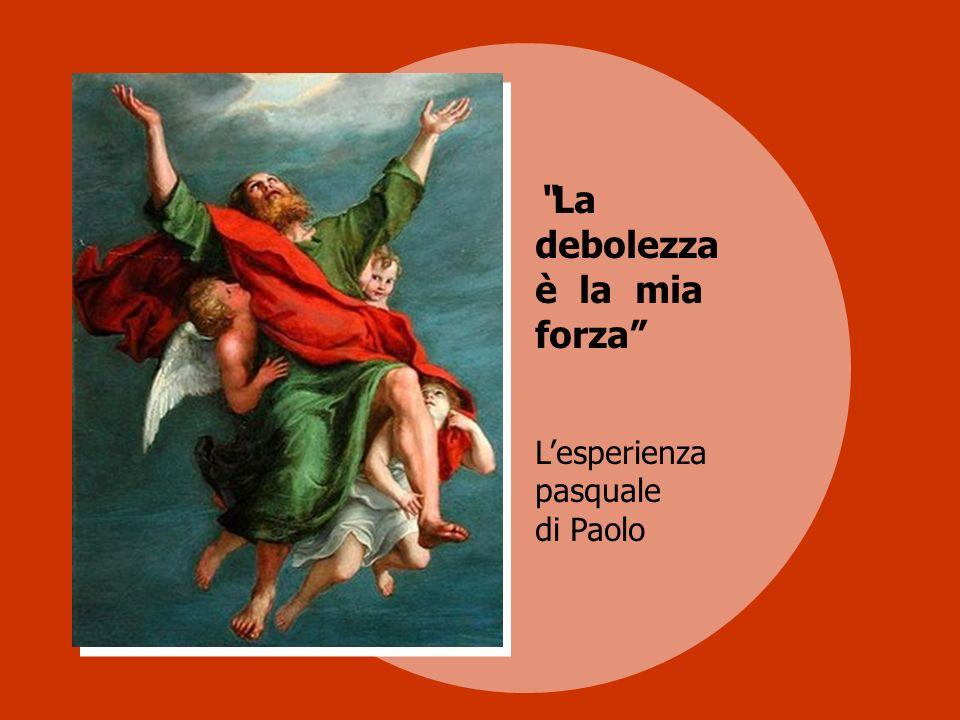 Lapostolo Paolo viene rappresentato nellatto di salire verso il cielo, trasportato dagli angeli verso la luce splendente del Paradiso.