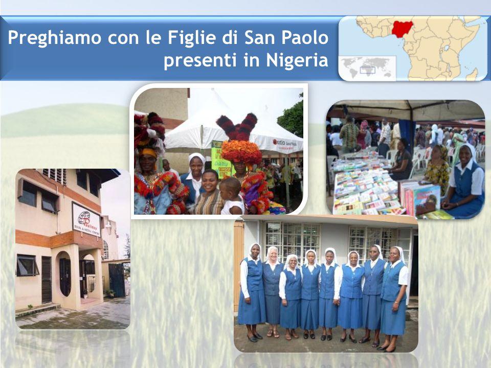 Preghiamo con le Figlie di San Paolo presenti in Nigeria