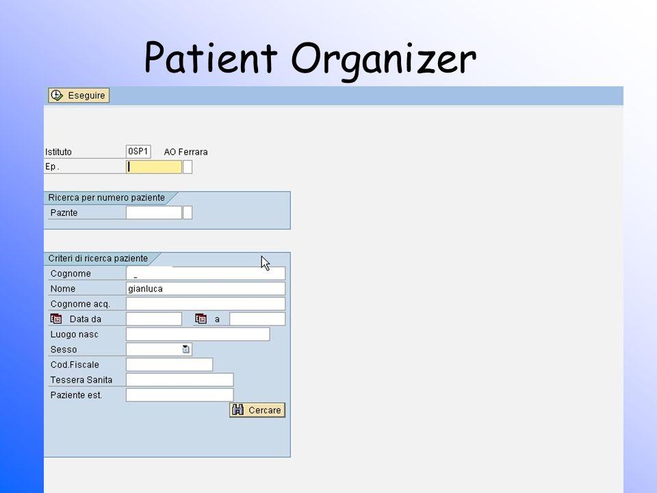 Patient Organizer