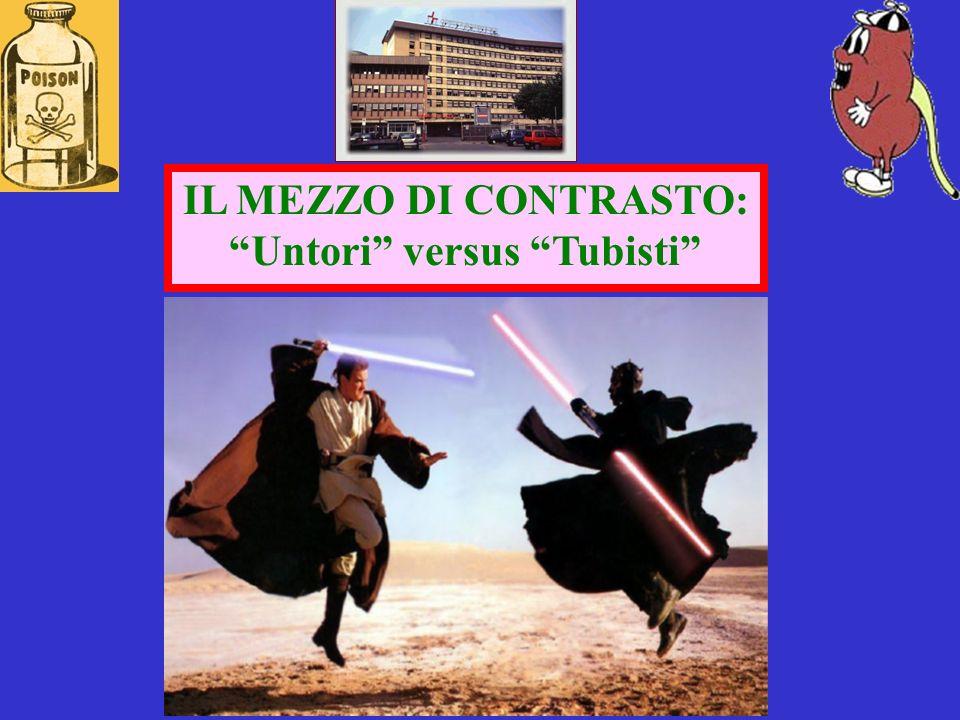 IL MEZZO DI CONTRASTO: Untori versus Tubisti