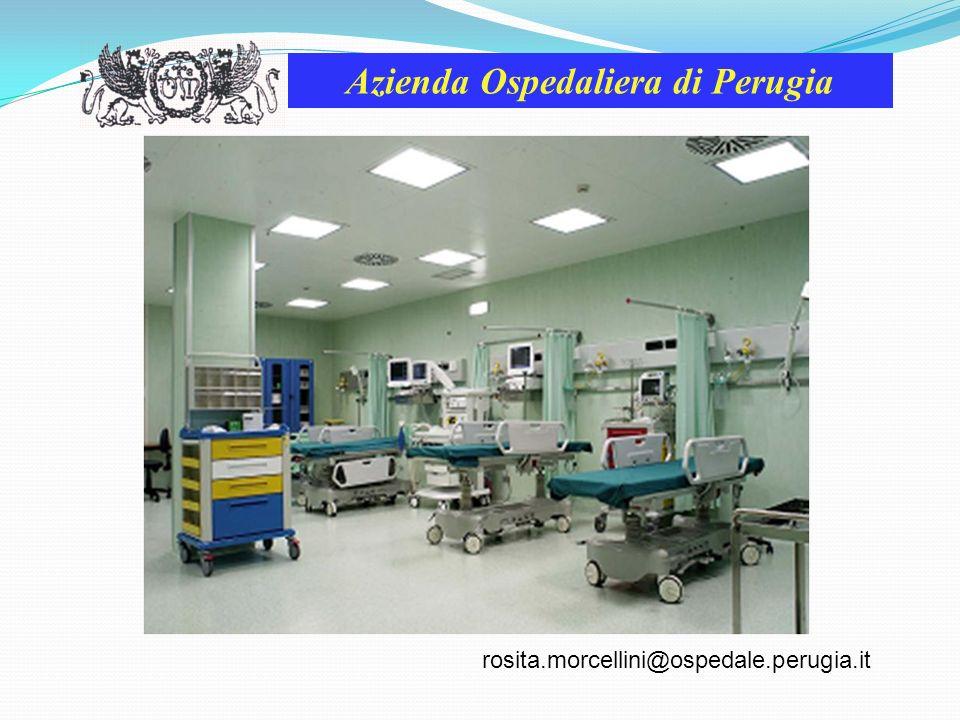 Azienda Ospedaliera di Perugia A dicembre 2009 al Blocco Operatorio è stato rilasciato lAccreditamento Istituzionale dalla Regione dellUmbria.