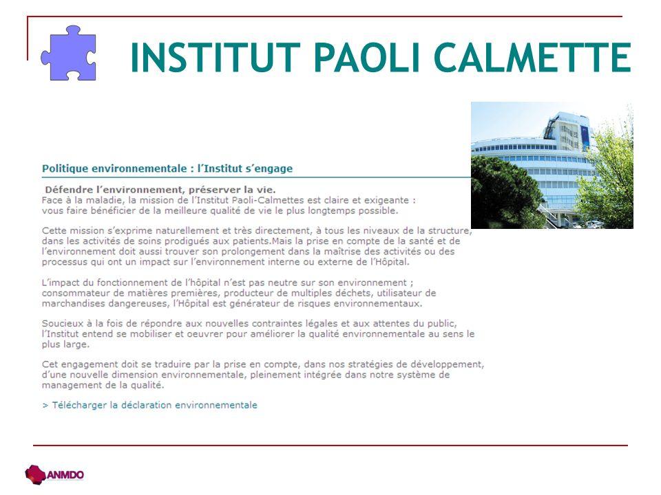 INSTITUT PAOLI CALMETTE