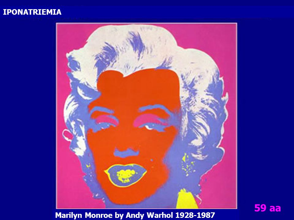 Marilyn Monroe by Andy Warhol 1928-1987 IPONATRIEMIA 59 aa