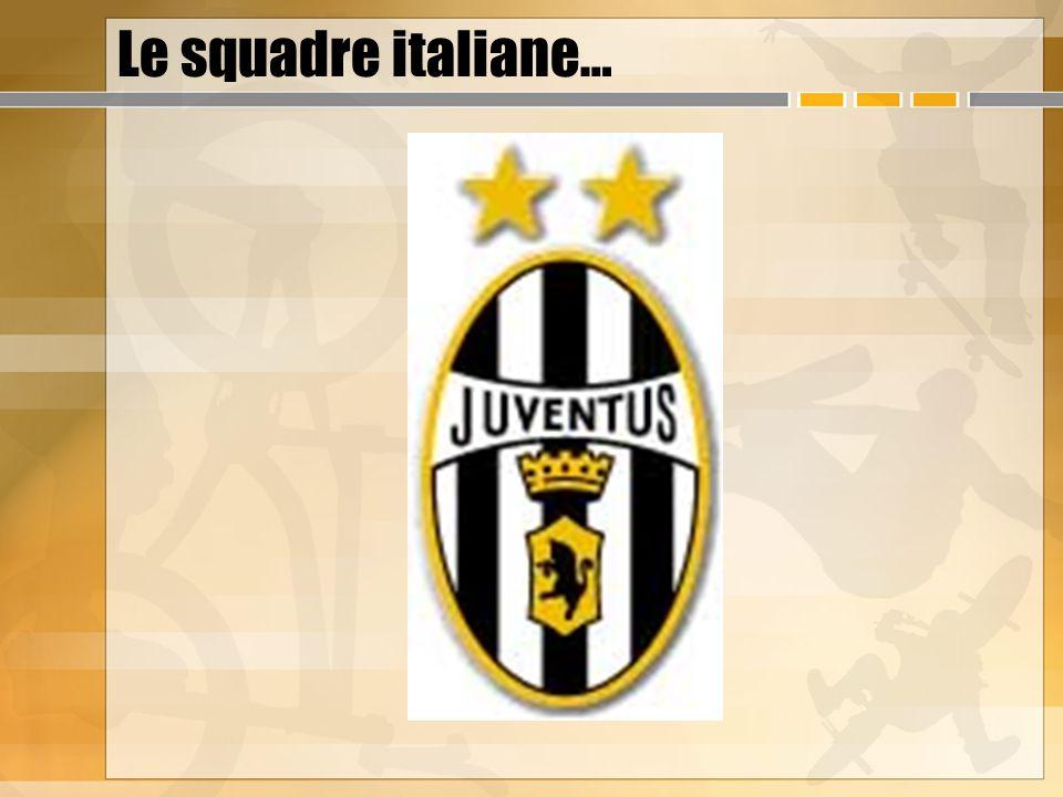 Le squadre italiane…
