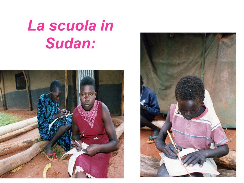 La scuola in Sudan: