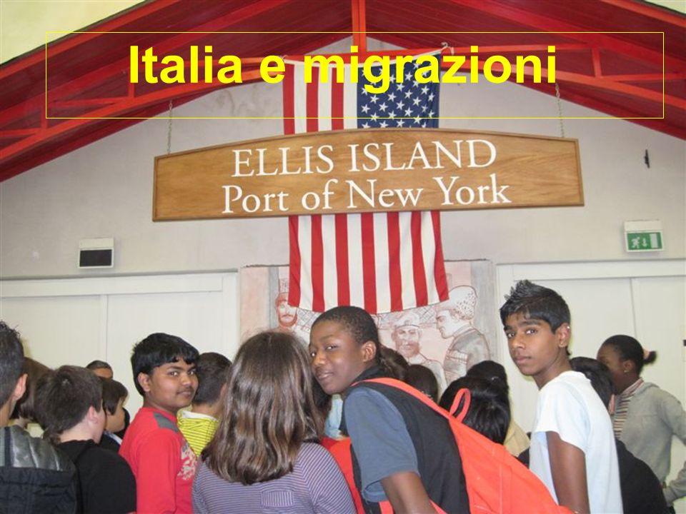 Italia e migrazioni