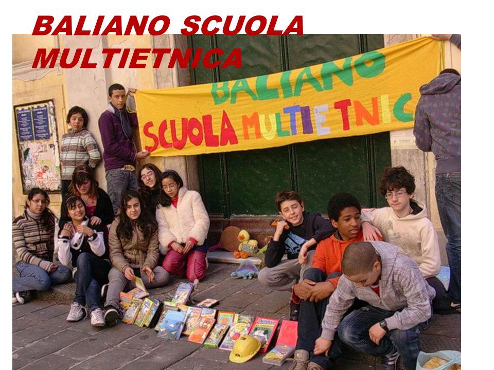 BALIANO SCUOLA MULTIETNICA