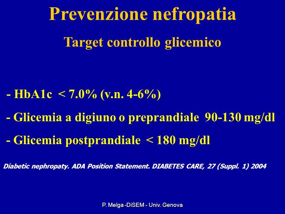 P. Melga -DiSEM - Univ. Genova IPERTENSIONE ARTERIOSA