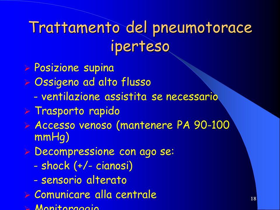 17 SHOCK MECCANICO PNEUMOTORACE IPERTESO TAMPONAMENTO CARDIACO CONTUSIONE MIOCARDICACON SHOCK