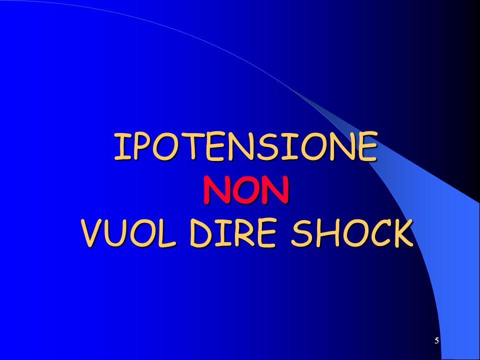 5 IPOTENSIONE NON VUOL DIRE SHOCK