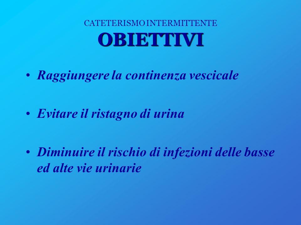 AUTOCATETERISMO CATETERISMO INTERMITTENTE ESEGUITO DAL PAZIENTE IN MODO AUTONOMO Definito anche CIC CIC ( Clean Intermittent Catheterization) = Cateterismo Intermittente Pulito