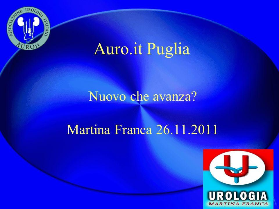 Auro.it Puglia Nuovo che avanza? Martina Franca 26.11.2011