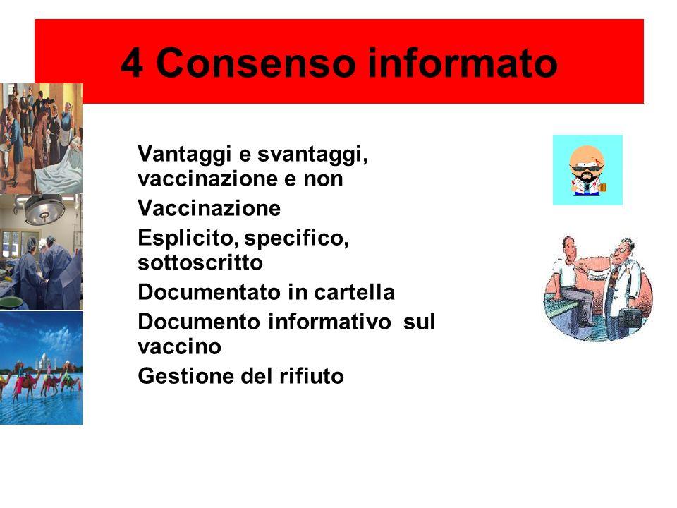 Prima di somministrare qualsiasi vaccino ad un operatore sanitario devono essere valutate le condizioni generali di salute ed analizzato con attenzion