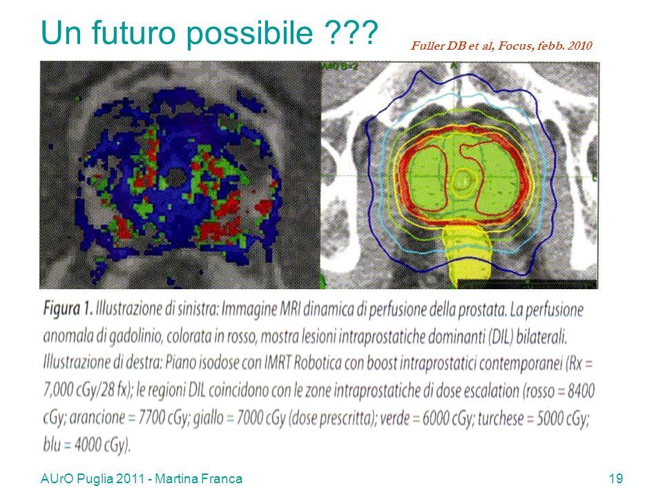 AUrO Puglia 2011 - Martina Franca19 Un futuro possibile ??? Fuller DB et al, Focus, febb. 2010