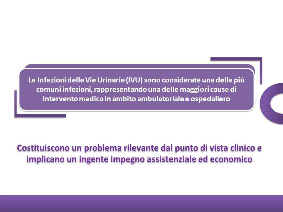 Le Infezioni delle Vie Urinarie (IVU) sono considerate una delle più comuni infezioni, rappresentando una delle maggiori cause di intervento medico in