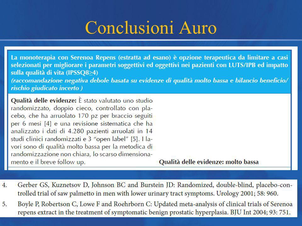 Conclusioni Auro