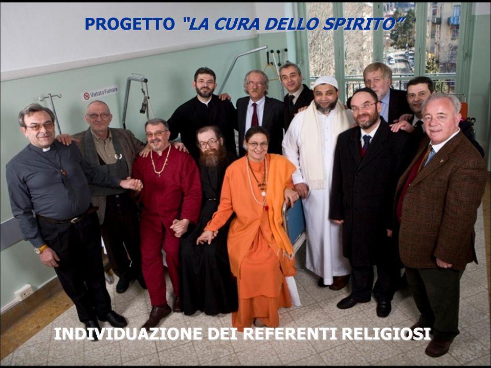 La Brochure PROGETTO LA CURA DELLO SPIRITO
