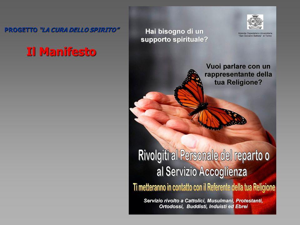 Il Manifesto PROGETTO LA CURA DELLO SPIRITO