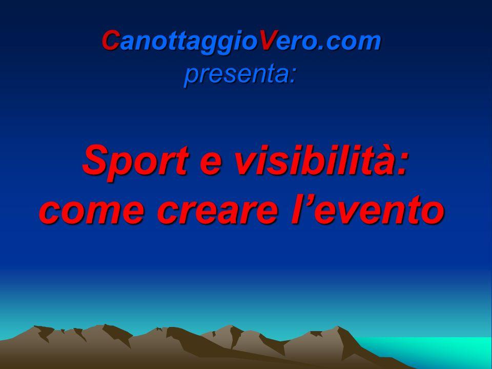 CanottaggioVero.com12 La presentazione dellevento Addetto stampa: annota i relatori (4/6), modera e fa rispettare i tempi (40/60 minuti) e comunica info di carattere generale.