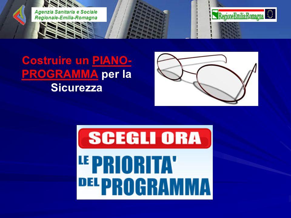 Agenzia Sanitaria e Sociale Regionale-Emilia-Romagna Costruire un PIANO- PROGRAMMA per la Sicurezza