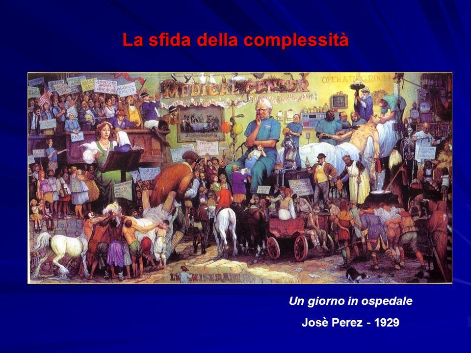 Un giorno in ospedale Josè Perez - 1929 La sfida della complessità