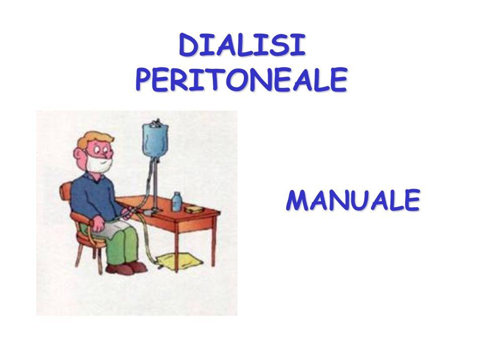 MANUALE MANUALE DIALISI PERITONEALE