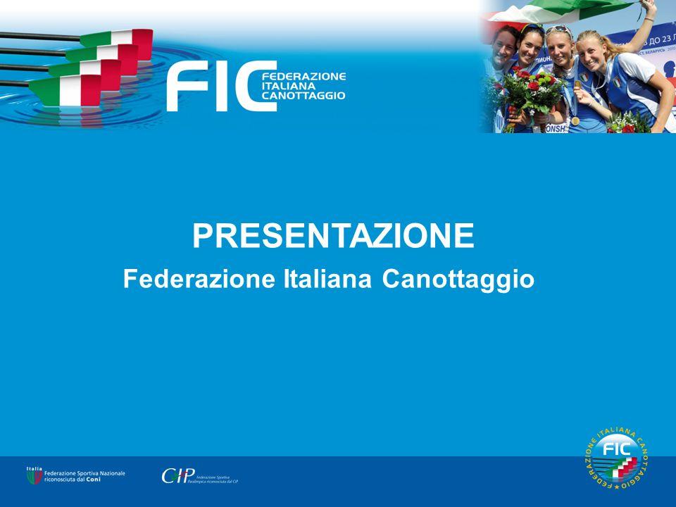 Copertina PRESENTAZIONE Federazione Italiana Canottaggio