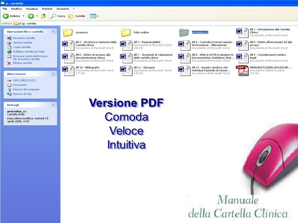 Versione PDF Comoda Veloce Intuitiva Versione PDF Comoda Veloce Intuitiva
