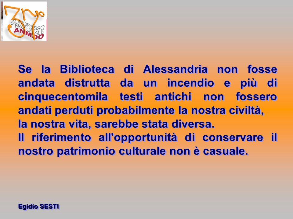 Egidio SESTI Selezione e scarto di documenti nelle aziende sanitarie 2008