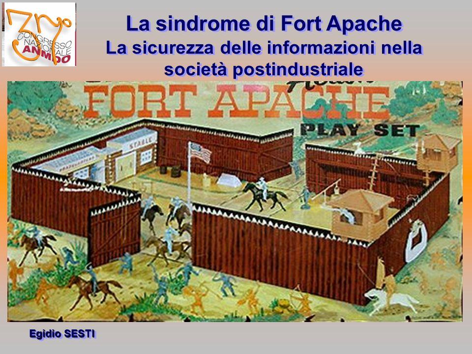 Egidio SESTI La sindrome di Fort Apache La sicurezza delle informazioni nella società postindustriale La sindrome di Fort Apache La sicurezza delle informazioni nella società postindustriale