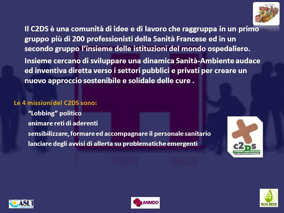 Il C2DS è una comunità di idee e di lavoro che raggruppa in un primo gruppo più di 200 professionisti della Sanità Francese ed in un secondo gruppo li